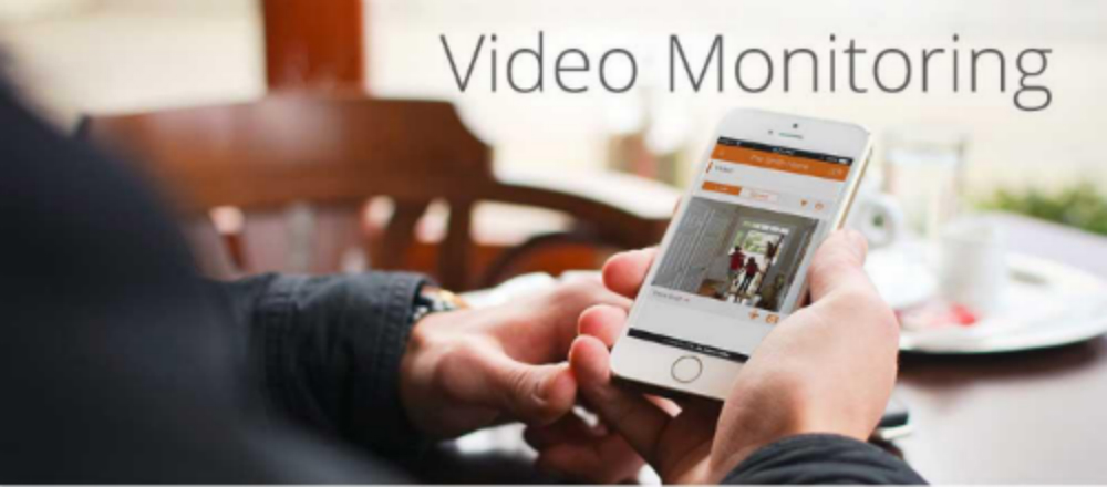 Check the video monitoring