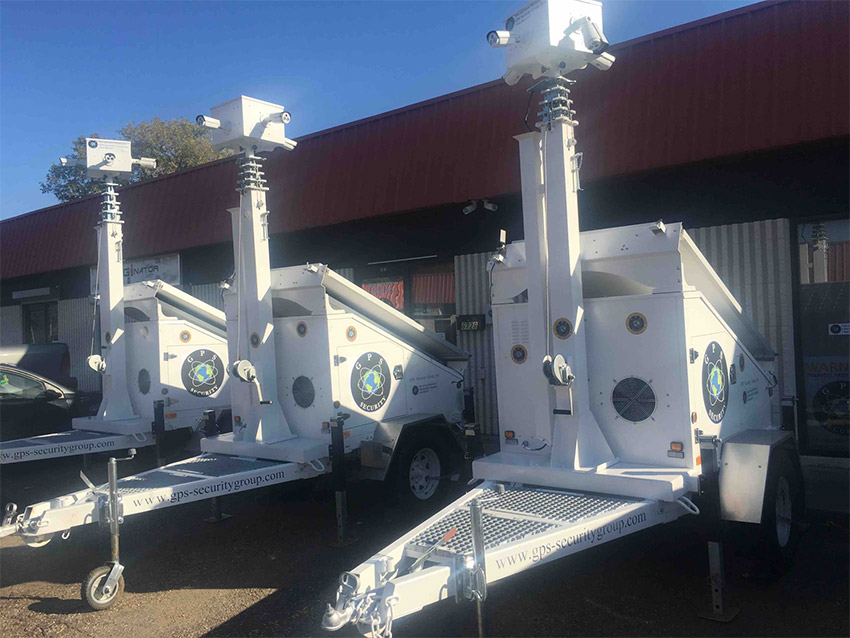 mobile surveillance units