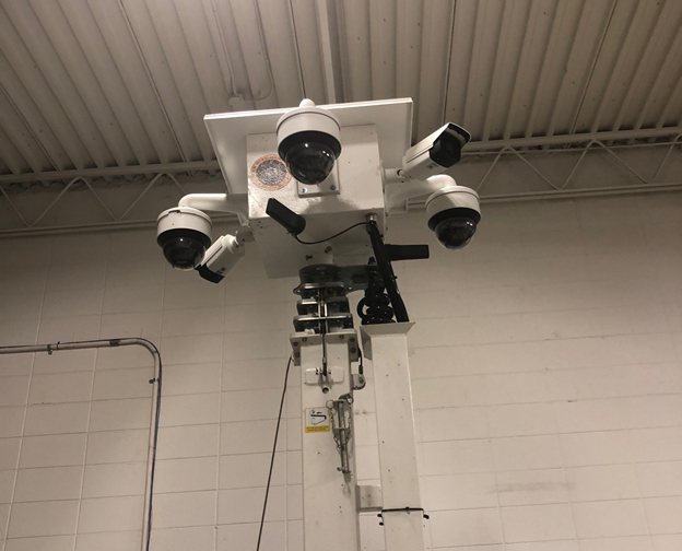 Security Cameras for Indoor Event
